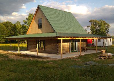 Cabin progress